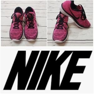 Nike lunarlon neutral ride soft running shoes 9